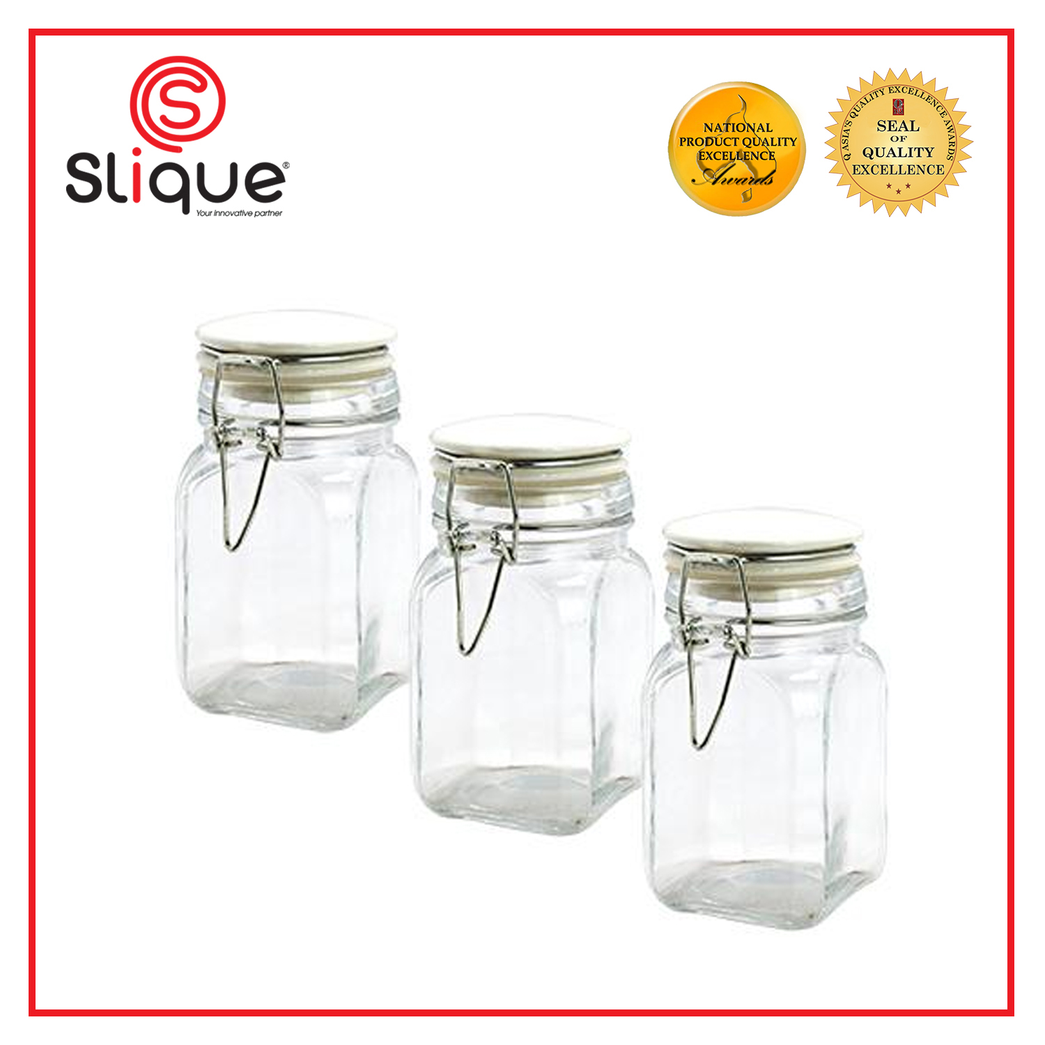 Storage Jam Jar Food Fresh Preserve Bottle Sweet Candy Container Glass 110//230ml