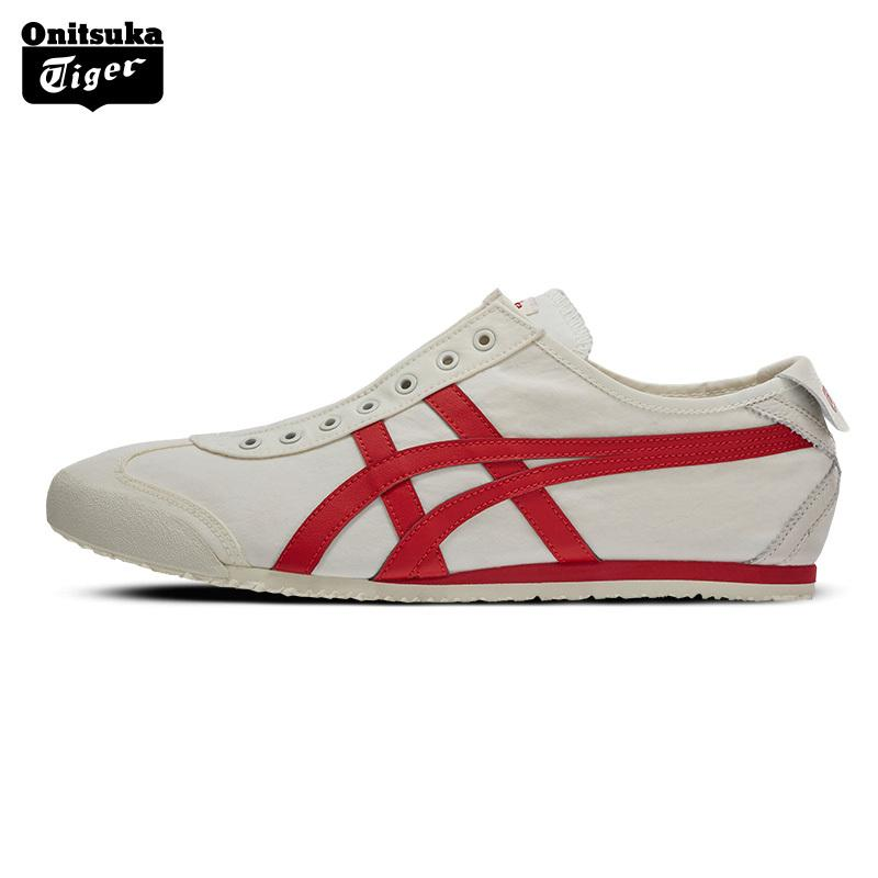 d41cb8cb576 Onitsuka Tiger Casual Shoes Men And Women MEXICO66 Loafers a Pedal  D3K0Q-0023