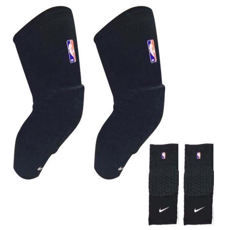 2280645ec0 2pcs(One Pair) NBA&NK Black Knee Shin Sleeves Sports Basketball Kneepads  Honeycomb Knee Pads