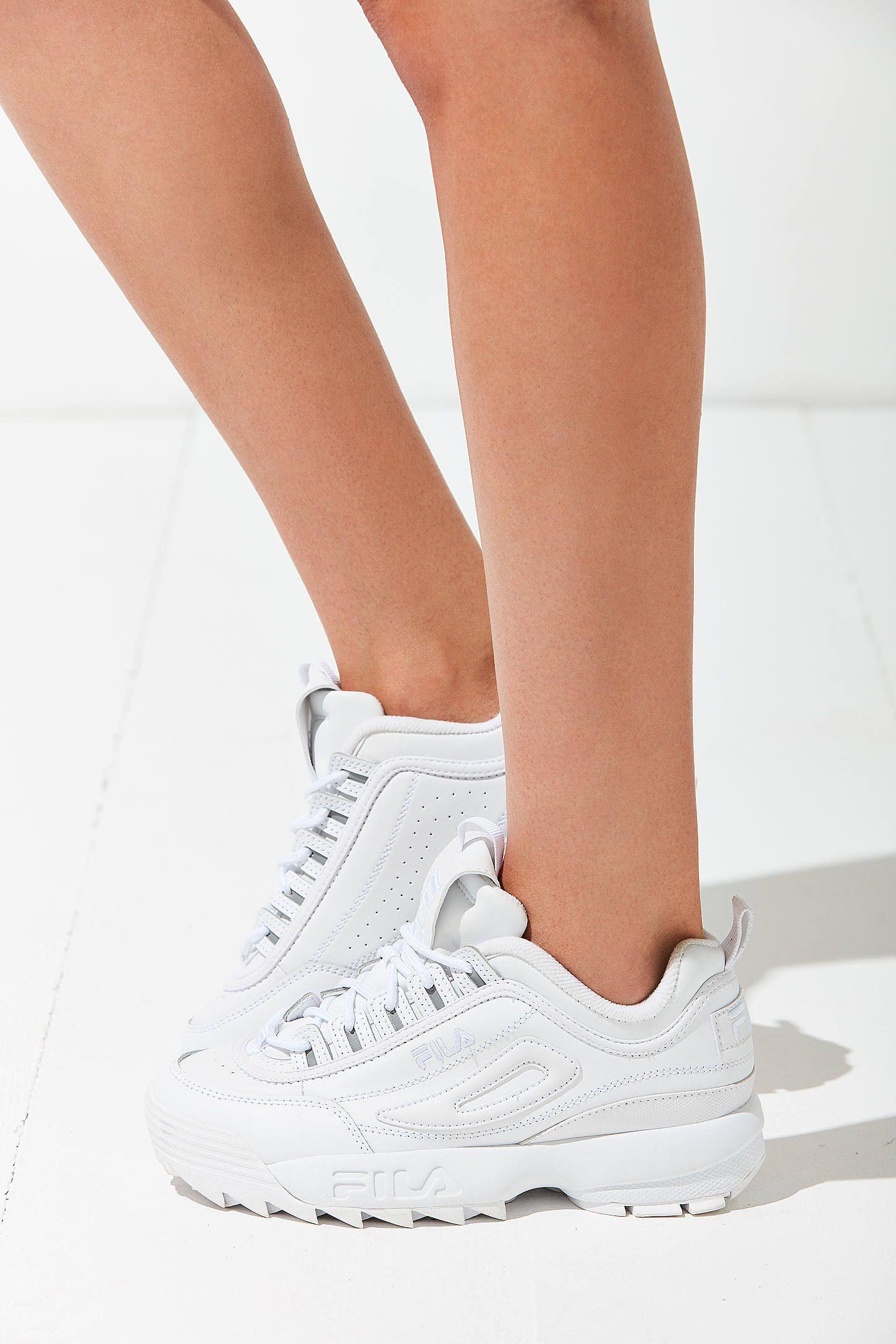 0ffb29941 FILA Shoes FILA Disruptor II 2 WOMEN FOR MEN Shoes Offical White CLASSIC  SHOES(36