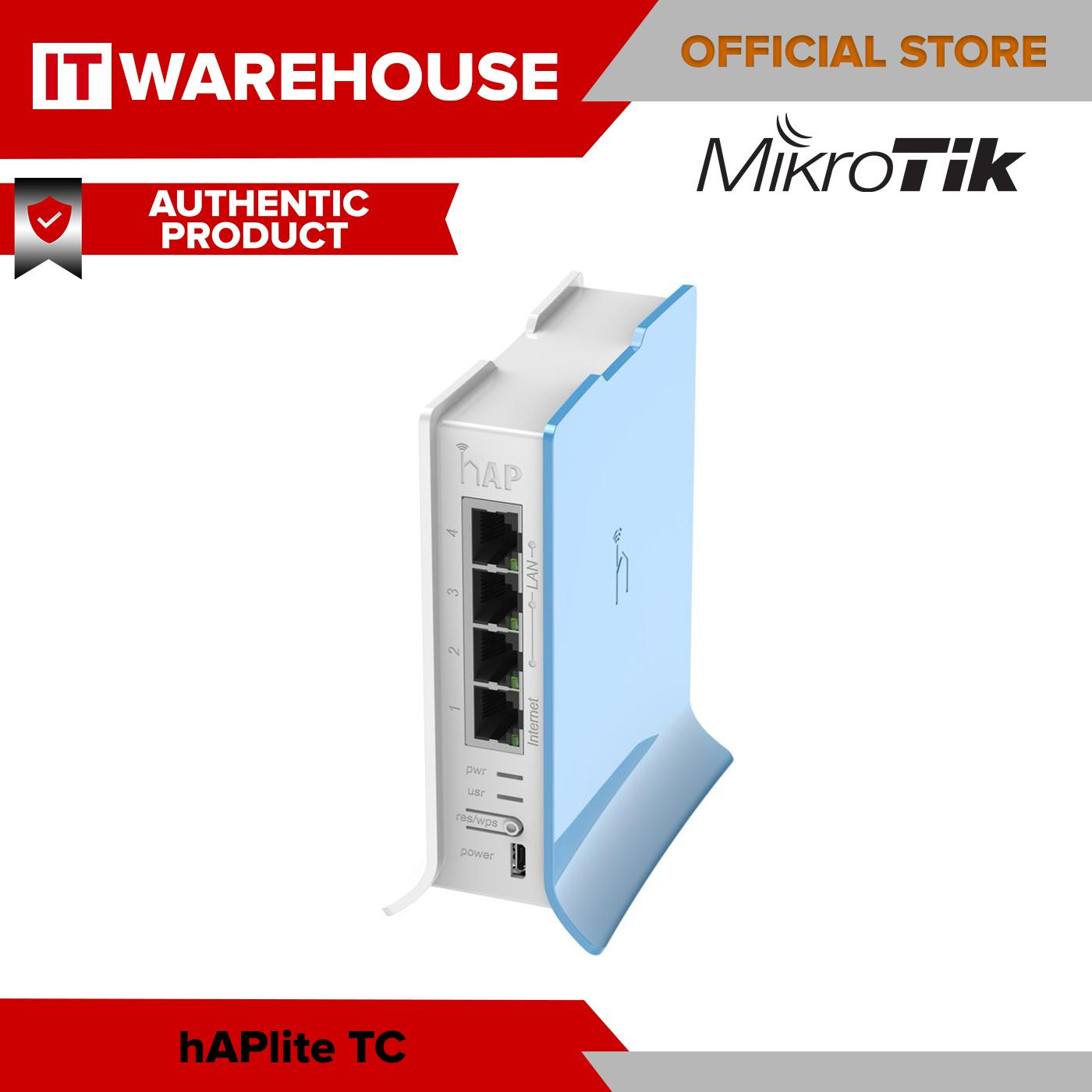 hAP Lite - Mikrotik RB941-2nD-TC hAPLite SOHO Router