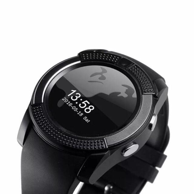 V8 Android Bluetooth Smart Watch With Camera, Slim Slot, And Audio Player By Topmaxxshop.