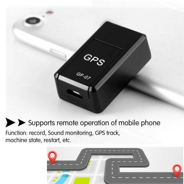 1 Thiết Bị Theo Dõi GPS, GF-07 Từ Tính Xách Tay Và Bán Chạy Xe Tracker Thiết Bị Định Vị Thời Gian Thực Mini GSM GPRS GPS