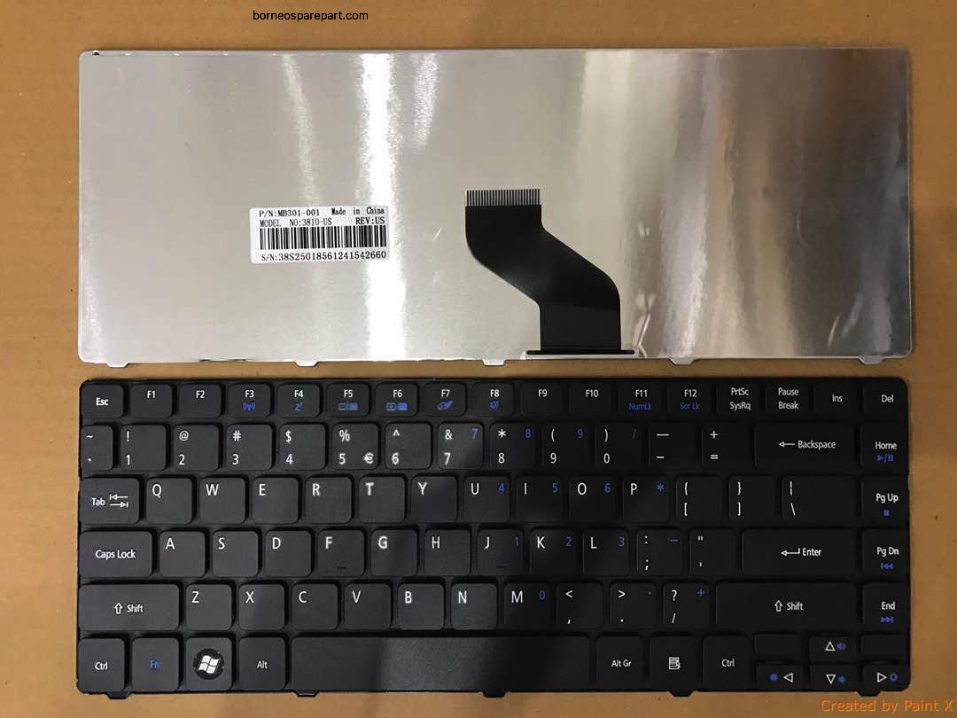 replacement Acer Laptop Keyboard for Aspire 4743/4745/4750/4752/4736/