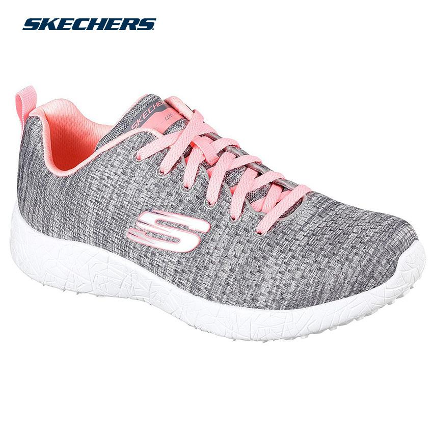 b3a01aa4a587 Skechers Women Burst - New Influence Sports Footwear 12740-GYCL (Gray  Charcoal)