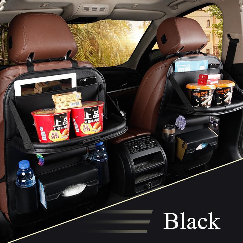 2PCS Car Storage Box Auto Back Seat Bag Cover Organizer Holder