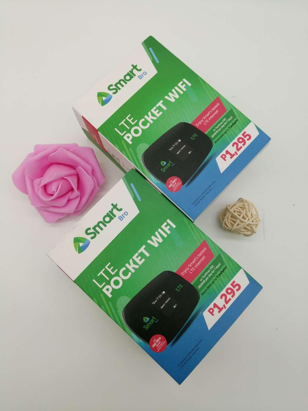 SMART LTE POCKET WiFi WiTH FREE SURF MAX 250 removable battery