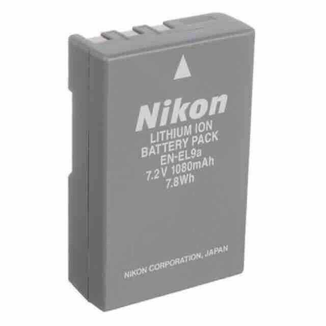 Nikon camera battery EL-9a for D60/D40/D40X cameras