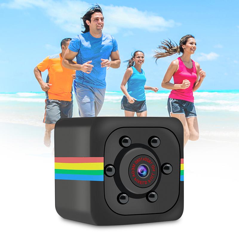 AIearth -- Camera Mini SQ11 Camera Nhỏ Ngoài Trời HD 960P Máy Quay Video Siêu Nhỏ DVR Tầm Nhìn Ban Đêm Cảm Biến Máy Ghi Hình Chuyển Động DV Hỗ Trợ Thẻ TF Ẩn