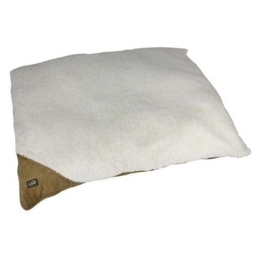 All For Paws Lambswool Pillow Bed Small 23x29 (Tan)