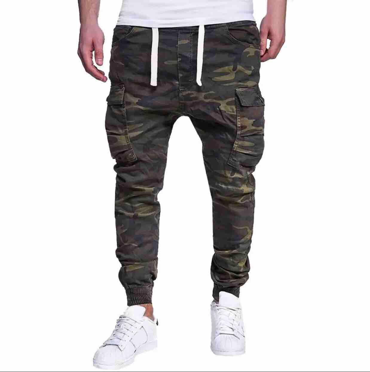Style Jogger Pants 6pocket Mens By Vs Fashion.