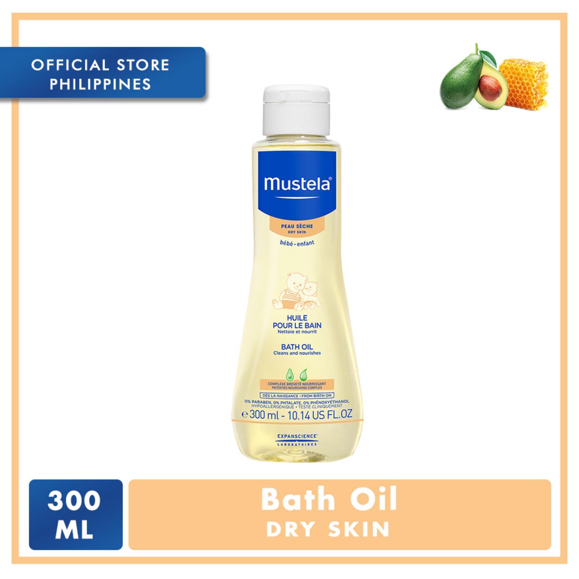 Mustela Bath Oil 300ml By Mustela Philippines.