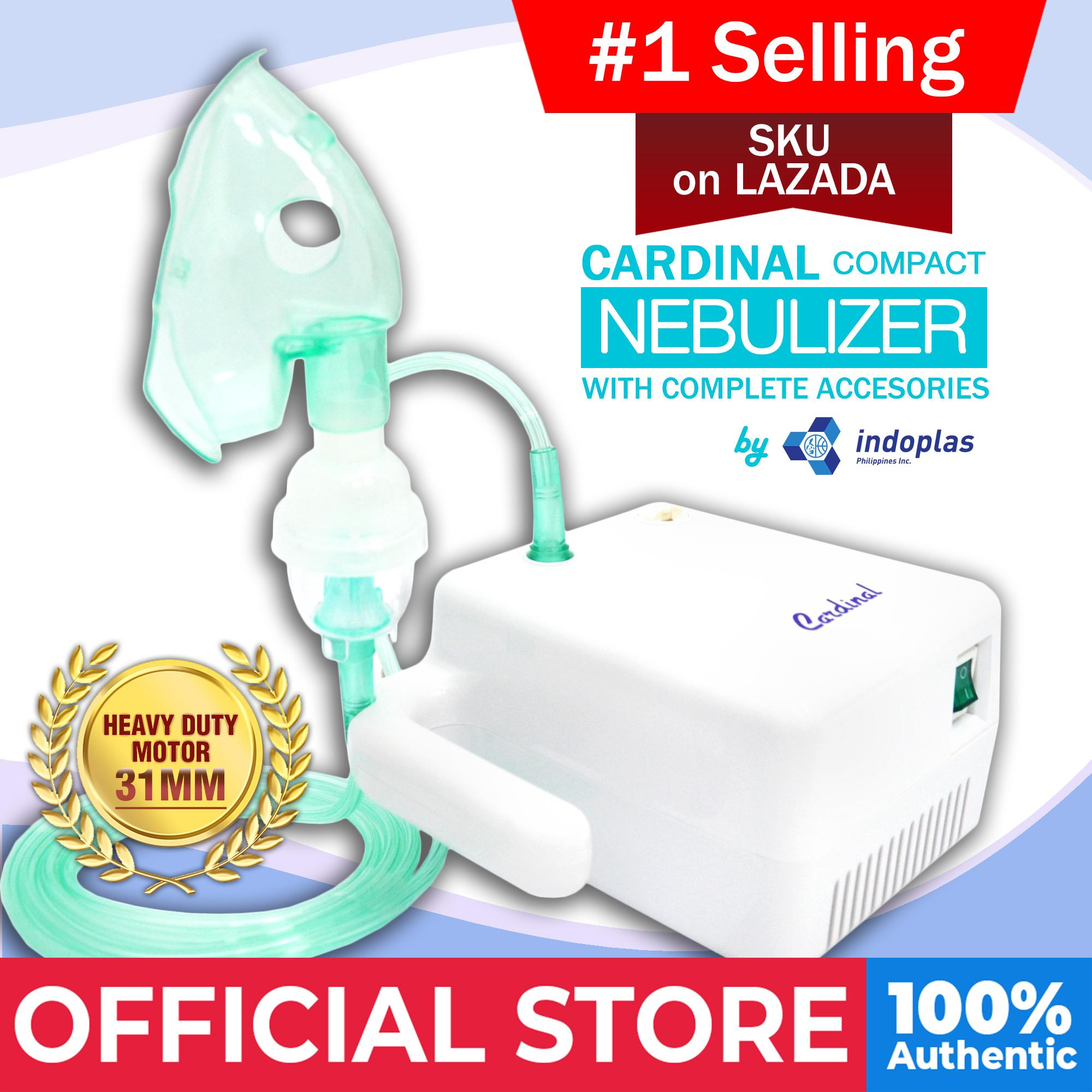 Cardinal Compact Nebulizer (w/ Complete Accessories) By Medical Supplies Philippines.