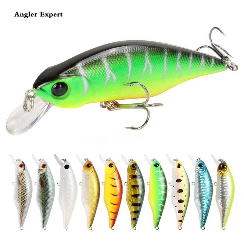 10pc Minnow Fishing Lures 8.5cm 11.2g Slow Sinking Crankbait Hard Bait Pesca Wobblers Carp