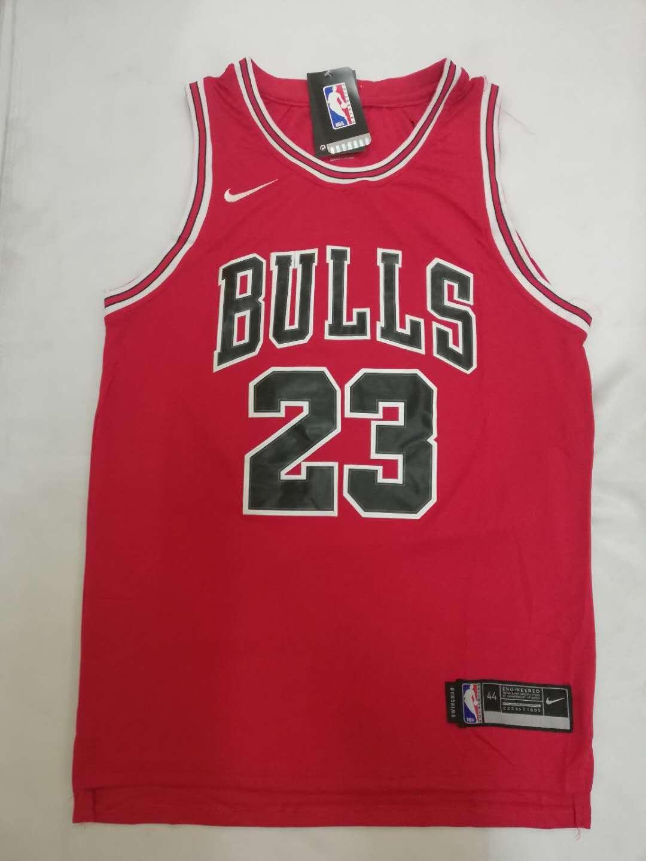new product 906fe 46287 Chicago Bulls 23 Michael Jordan NBA Swingman Jersey