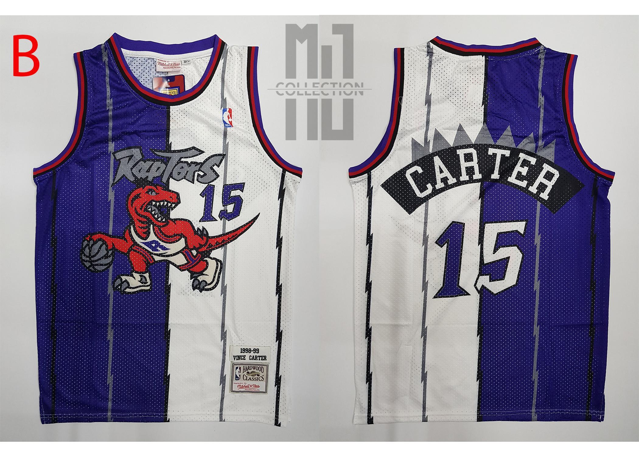 official photos 8d1e6 0c569 Vince Carter - NBA Basketball Jersey (Hardwood CLassics)