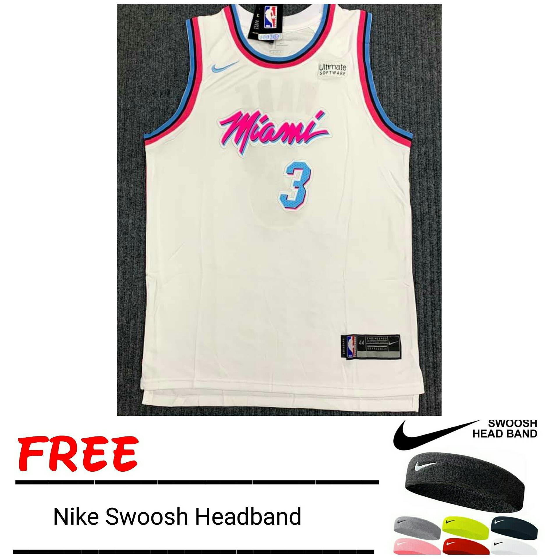 separation shoes f206d 5793b Dwayne Wade Miami Heat Jersey