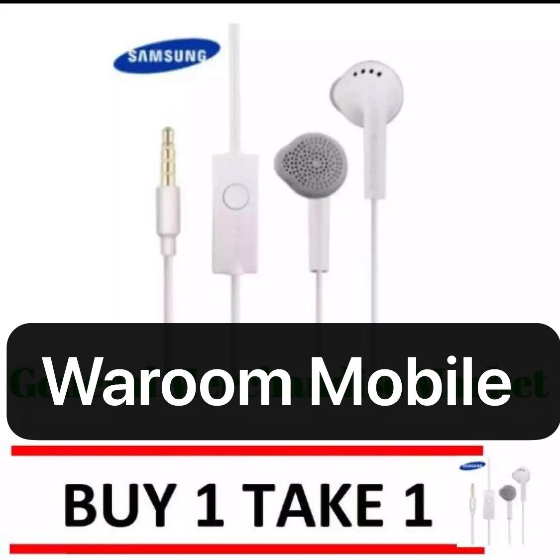 Buy 1 take 1 Equipment Manufactured Samsung Earphones Original Universal  Headset (good quality white)
