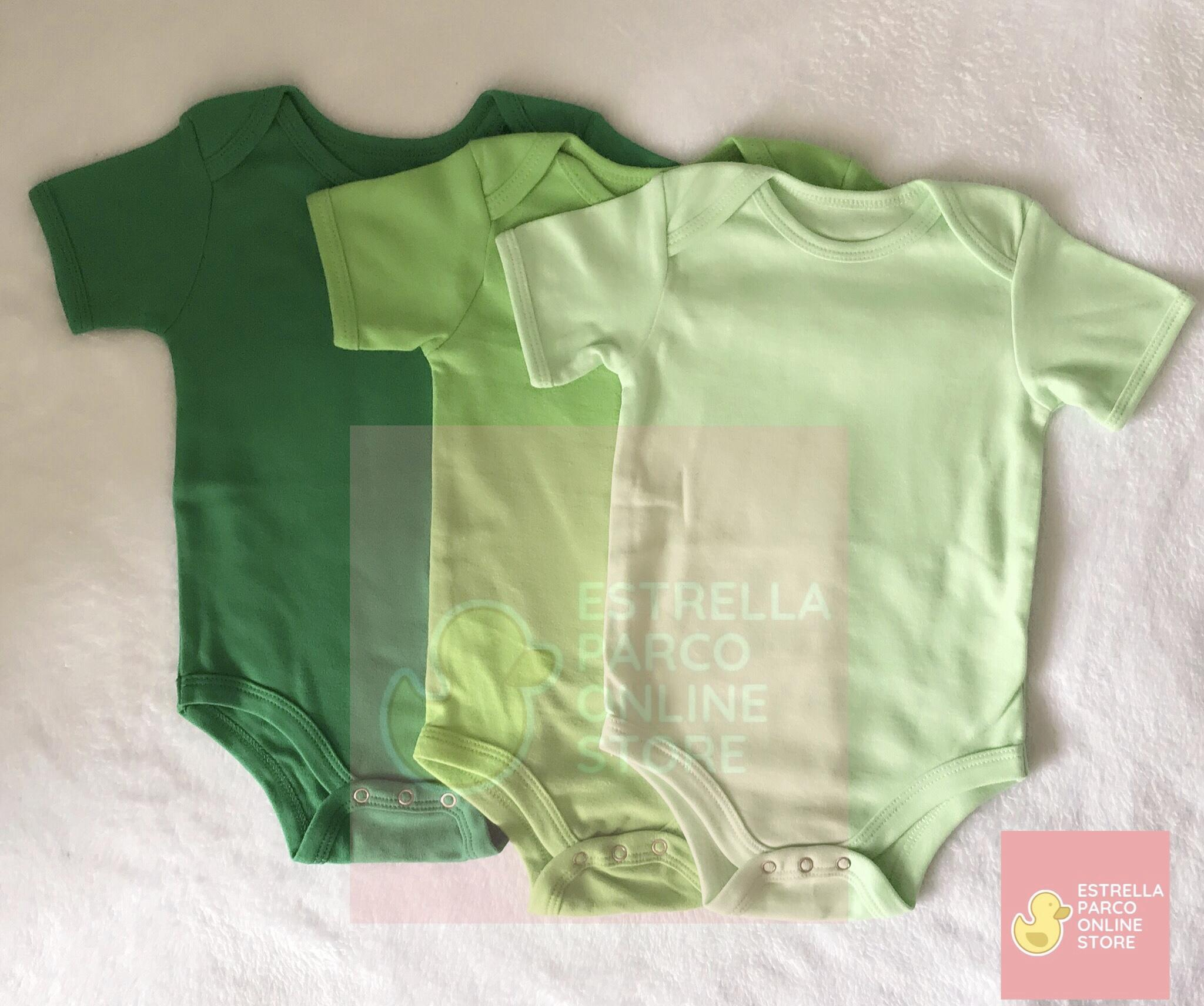 3b503a838c51f Baby Onesies Romper Set 3 FOR 6-9 MONTHS (PRE PACKED / PRE MIXED)
