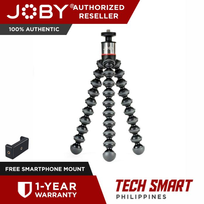 JOBY GorillaPod 500 Compact Tripod Stand for Sub-Compact, Point & Shoot, Mirrorless and 360 Cameras. Supports up to 1lb (500g)