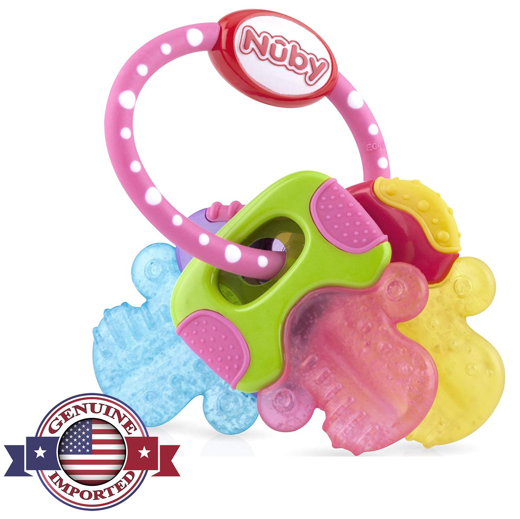 Nuby Ice Gel Baby Teether - Baby Teething Toy for Infants 9226572bd8