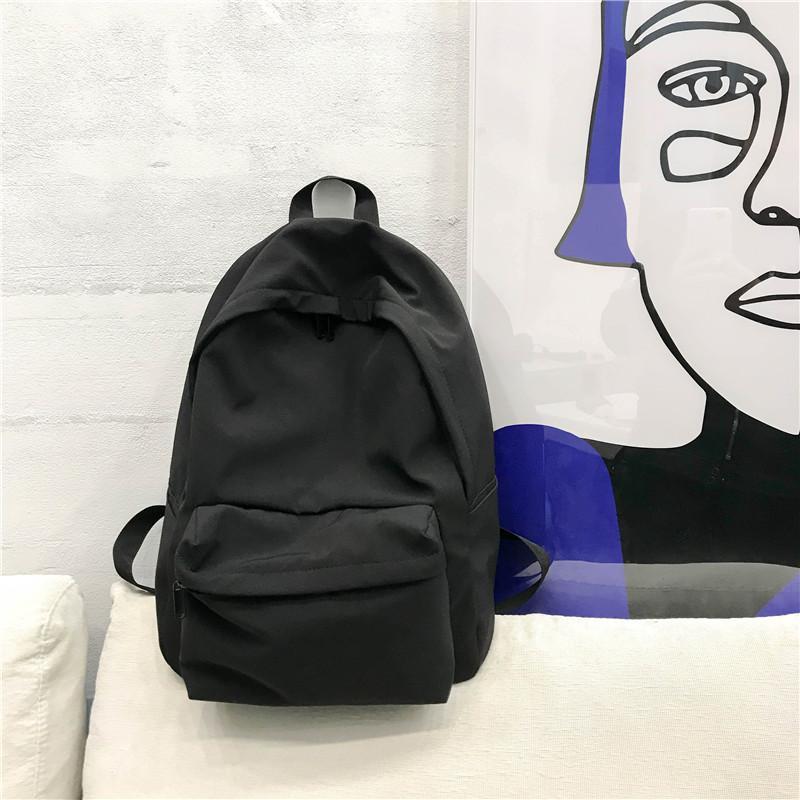 School Bag Female Korean Style High School Campus College Student INS Wind Ultra-Fire of Backpack Popular Brand Female Backpack Versatile Trendy Bag