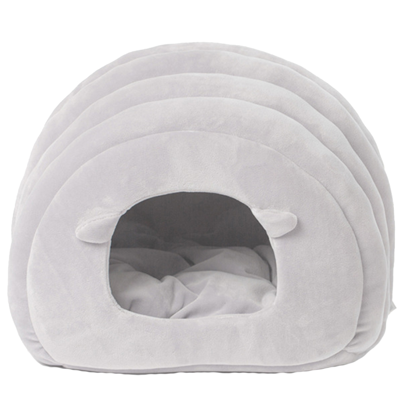New Cat and Dog Pet Bed Pp Cotton Bed House Small and Medium Dogs Soft Warm Bed Room Pet Nest
