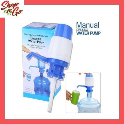 Sagm Bottled Drinking Water Pump Hand Press Manual Water Dispenser By Shop And Go Marketing.