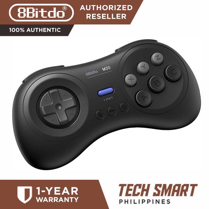8Bitdo M30 Bluetooth Gamepad - Sega Genesis & Mega Drive Style - Nintendo  Switch