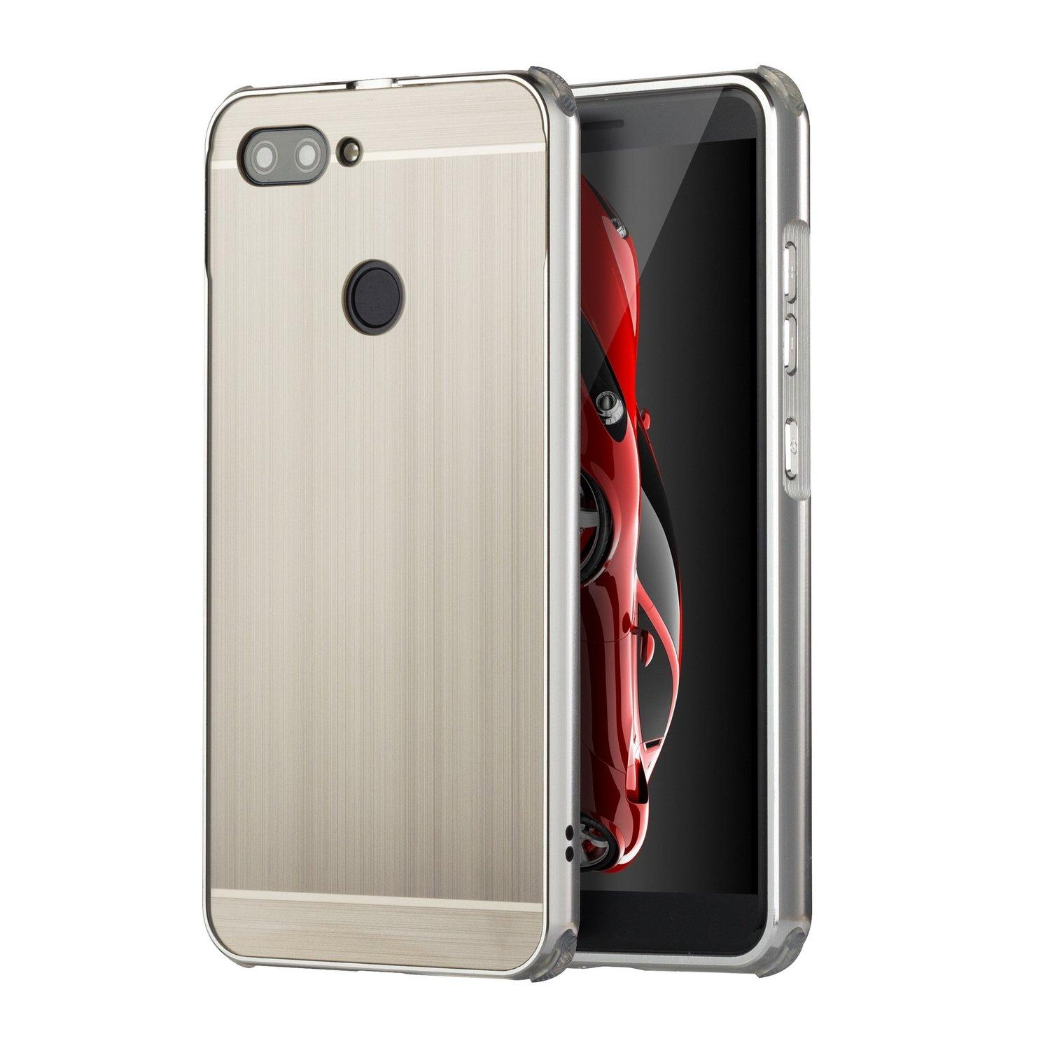 PHP 269. Asus ZenFone Max Plus M1(ZB570TL) Luxury Ultra Thin Metal Brushed Premium Aluminum Shockproof Protective Bumper Hard Back Case CoverPHP269