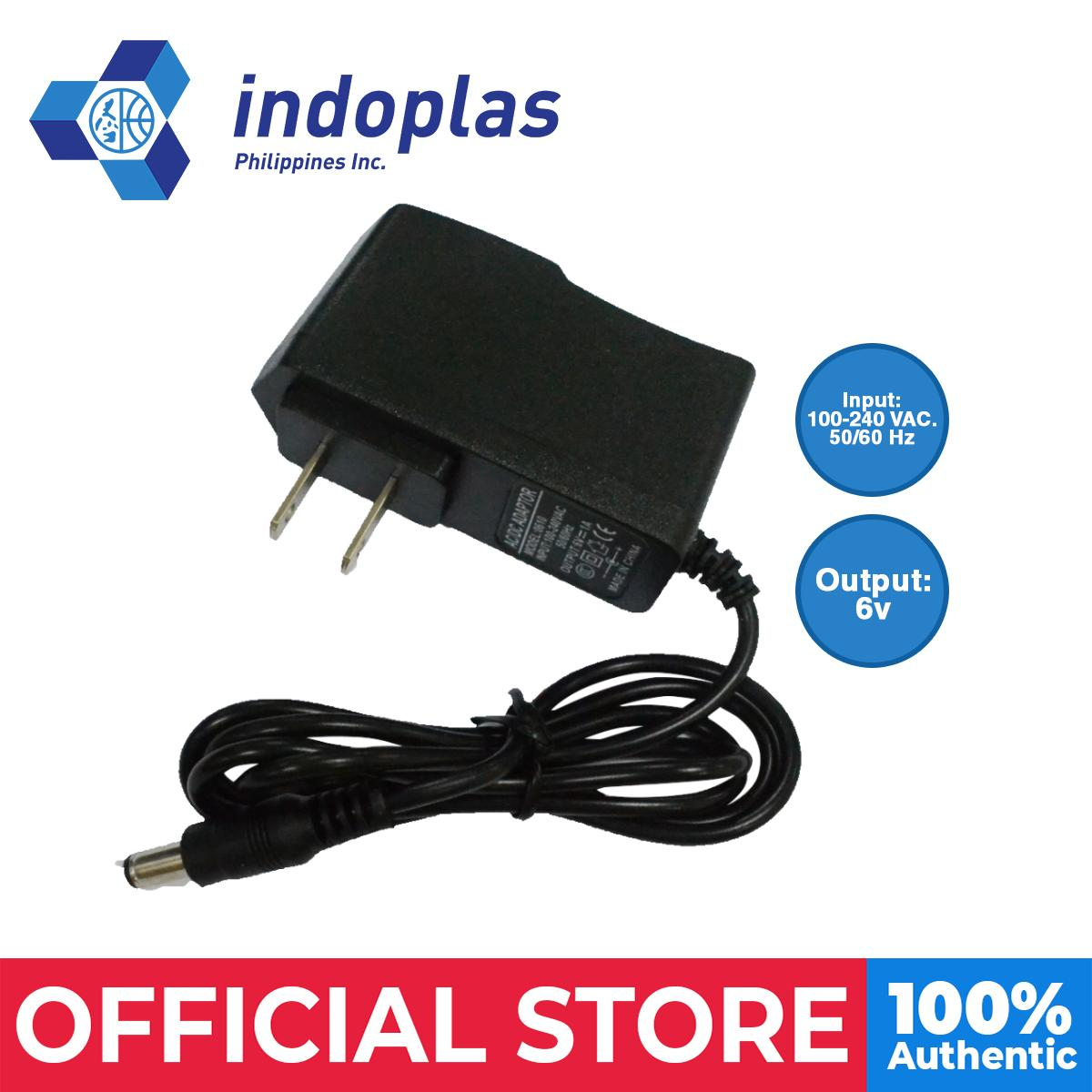Indoplas Bp Ac/dc Adapter 6v By Medical Supplies Philippines.