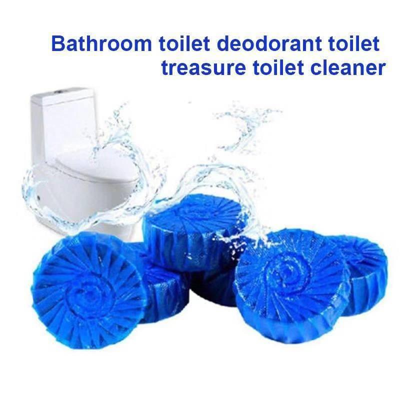 Angbon Disposable Flush Toilet Cleaner Helper Fragrant Ball Blue Bubble Cleaning Tools By Angbon.