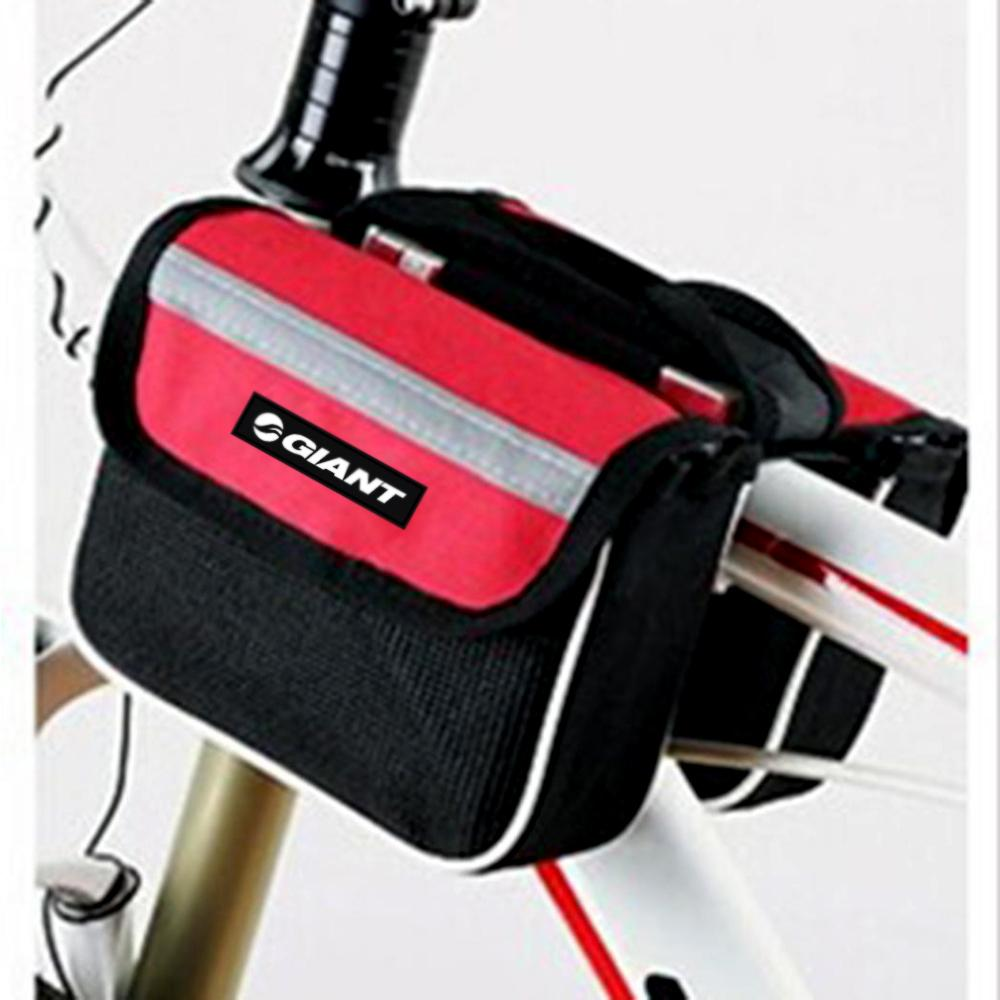 d704274ff37 Bicycle Front Frame Bag Cycling Bike Tube Pouch Holder Saddle Panniers