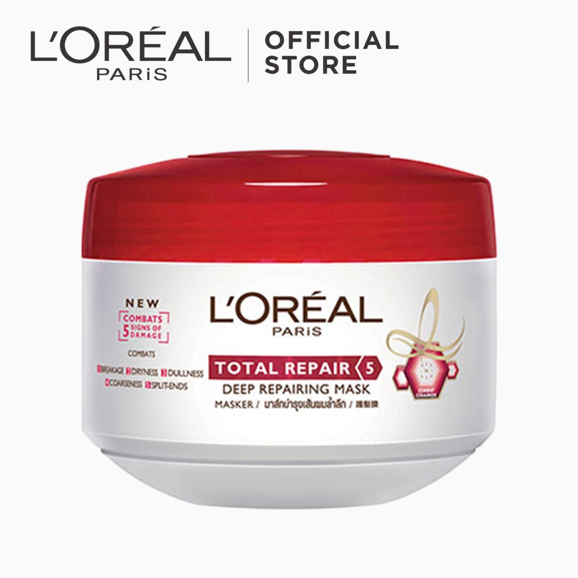 Total Repair 5 Mask 200ml By Loréal Paris Elseve By Loreal.