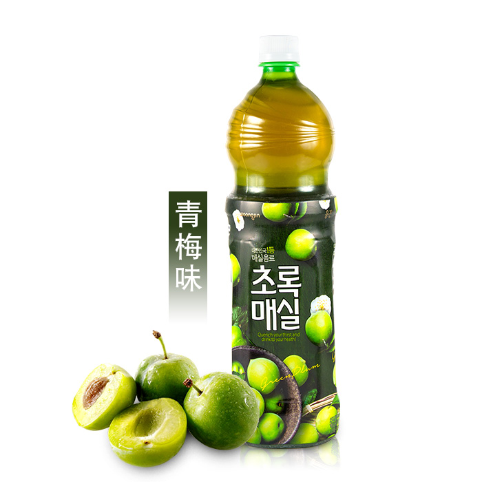 Woongjin Green Plum Drink 1500ml 1 5l Korean Foods Korean Products Lazada Ph