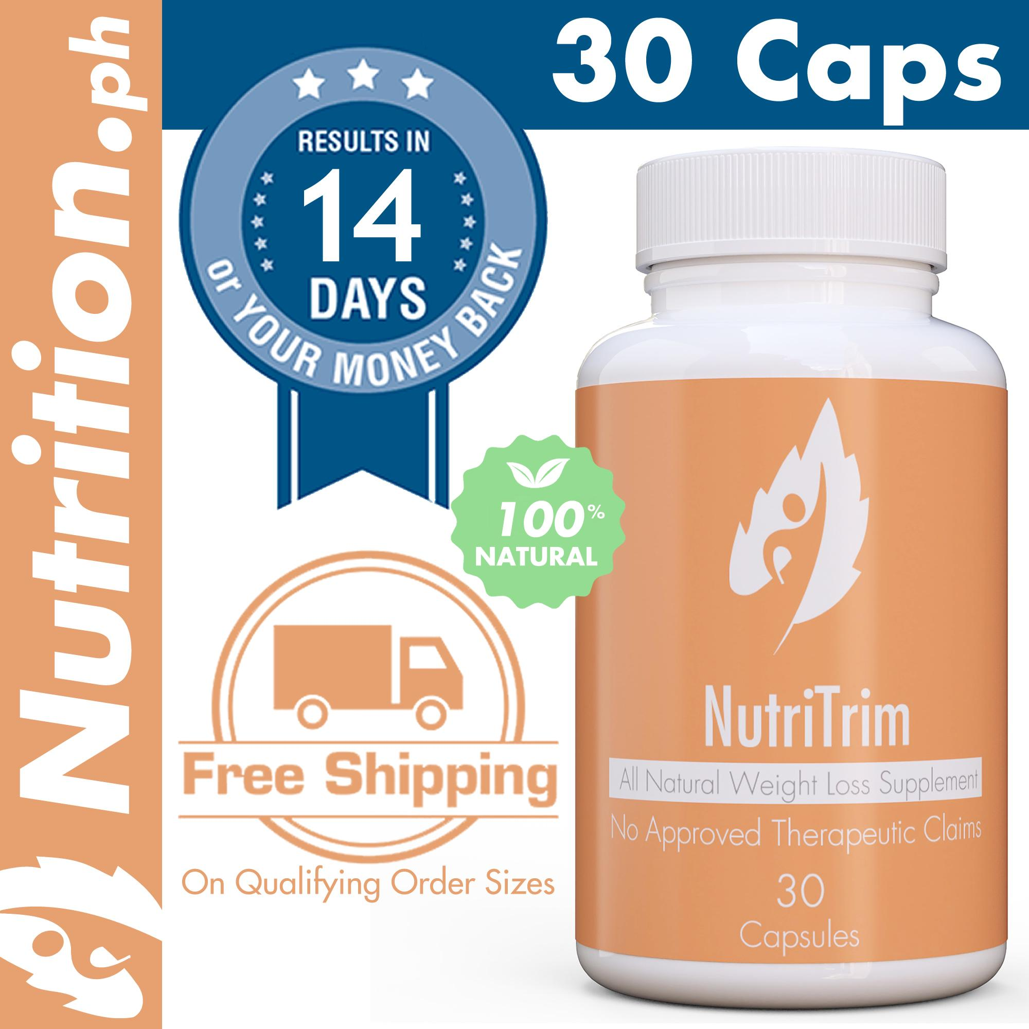 Nutrition Ph Nutritrim 30 Caps All Natural Slimming Capsule Best Weight Loss Supplement Loose Weight Body Slimming Pills Capsules