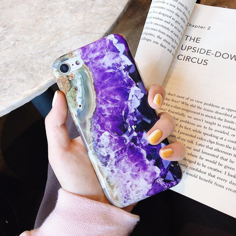 OPPO A3s Case, Retro OPPO A3s Cases, Marble Soft TPU Case Luxury Brand LV
