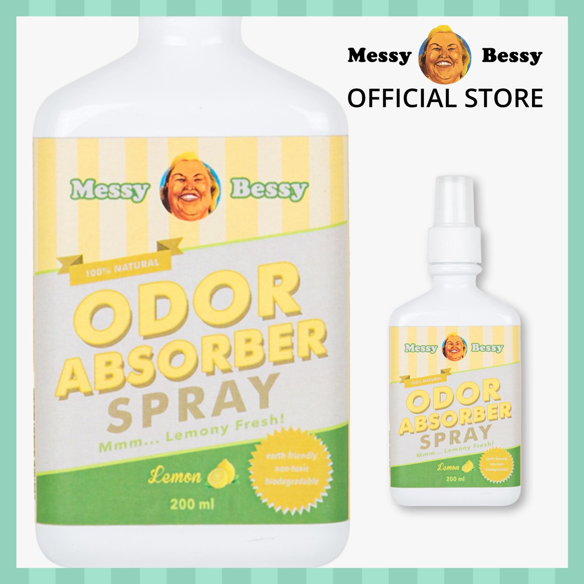 Messy Bessy Odor Absorber Spray 200ml By Messy Bessy Official.