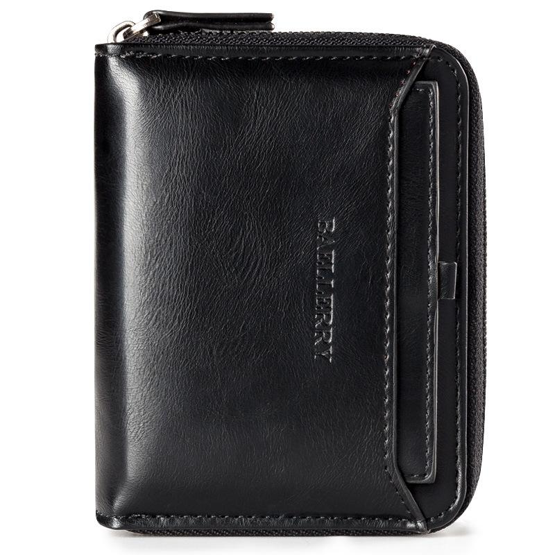 055005c640 Baellerry Short Wallet Men Top quality leather men wallets multi function  Male Clutch purse with coin pocket card holder
