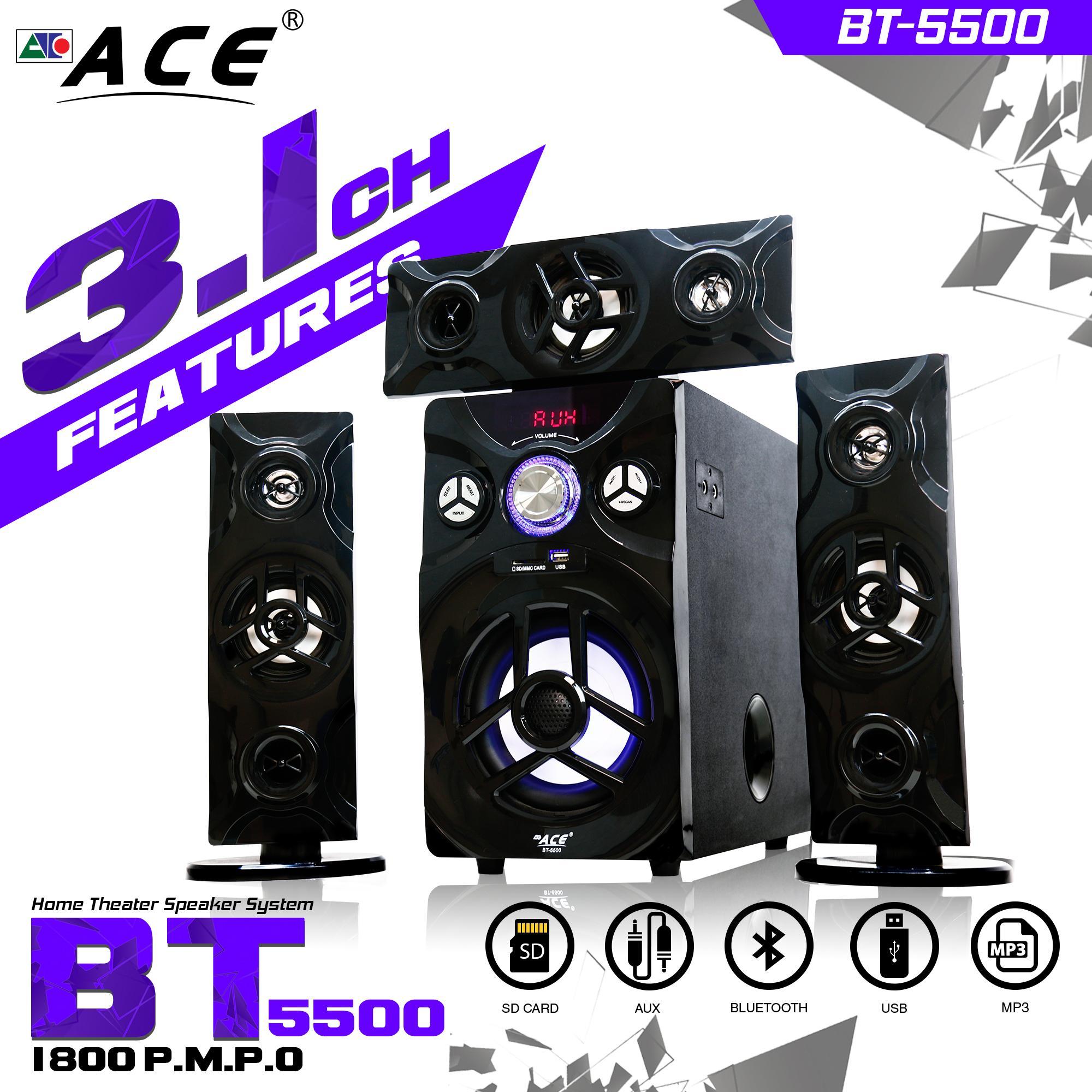 Subwoofer For Sale Speaker Prices Brands Specs In Ev Eliminator Wiring Diagram Ace Bt 5500 31 Multimedia Sub Woofer Bluetooth System