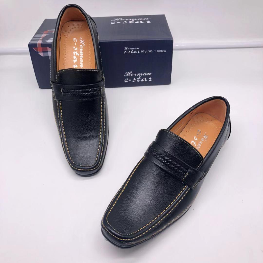 style school \u0026 office Black Shoes 859