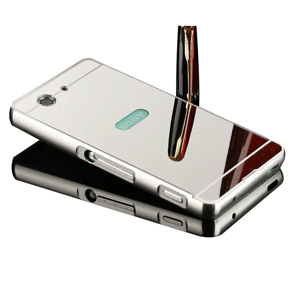 ... Ultra Thin Detachable Metal Aluminum Frame Bumper Acrylic Back Panel Mirror CasePHP180. PHP 180. Sony Xperia ...