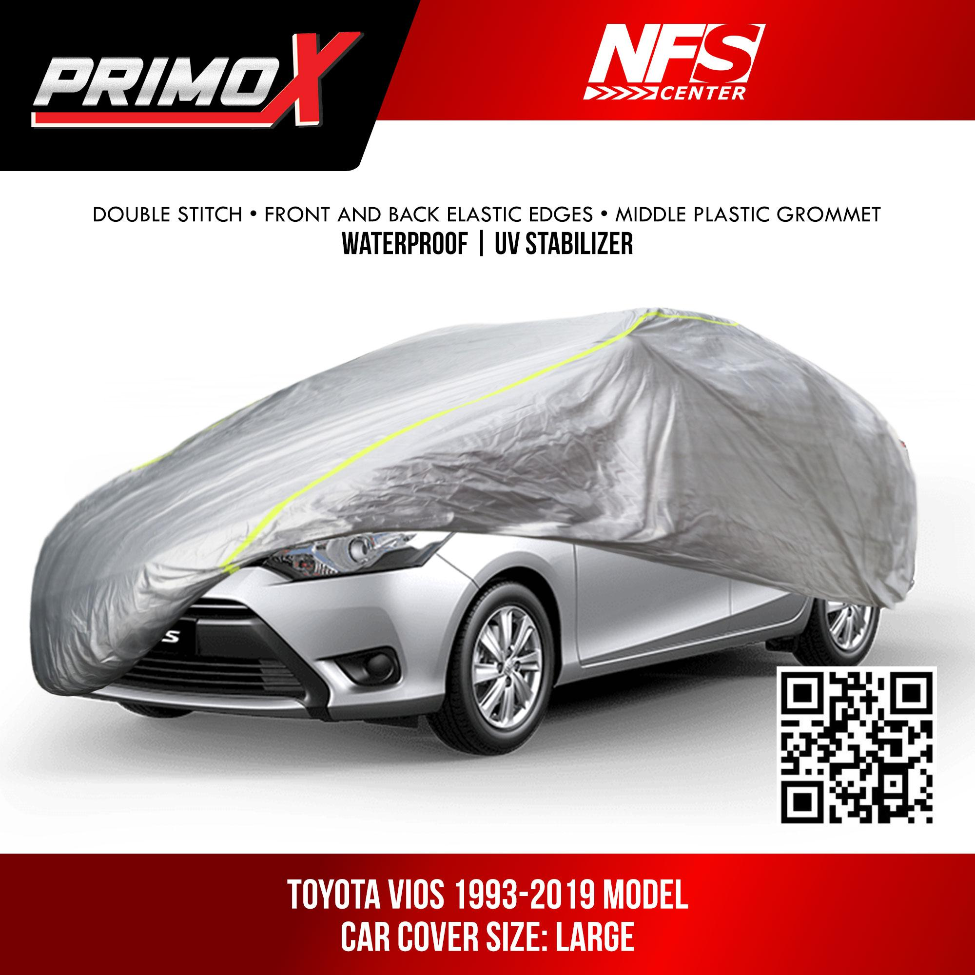 Waterproof Aluminum Car Cover for Toyota Vios image