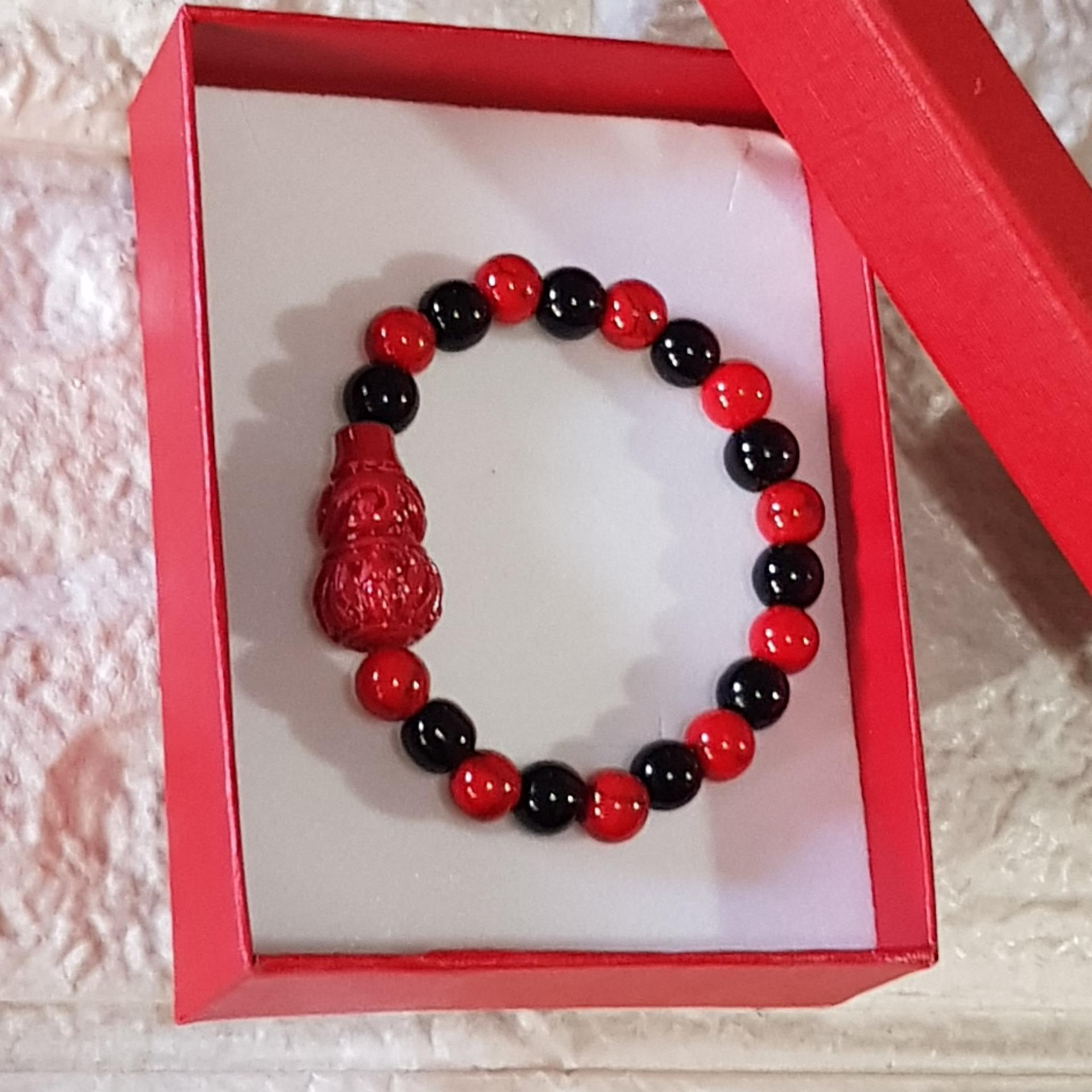 ad9e62db1 Lucky Charm Money JAR Anti Usog bracelet for Baby and Kids unisex design  With Free Pouch