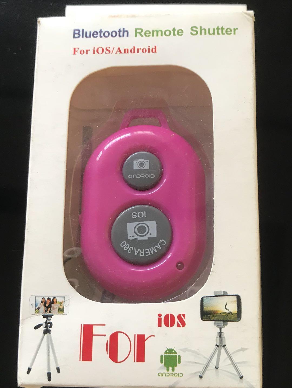 Bluetooth Wireless Remote Control Camera 360 Shutter Release for iOS