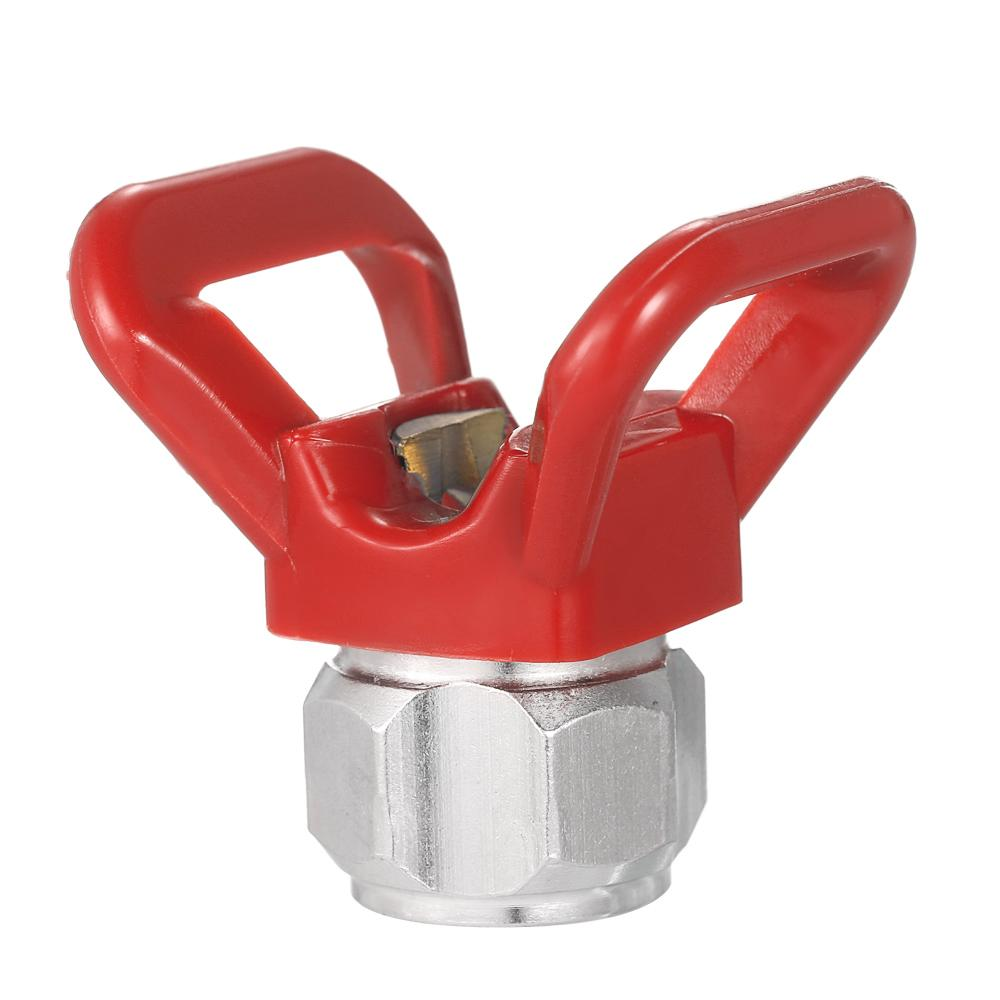 Spray Paint Accessory Universal Tool Airless Paint Spray Flat Tip Nozzle Guard Seat For Graco Titan Wagner Paint  Sprayer