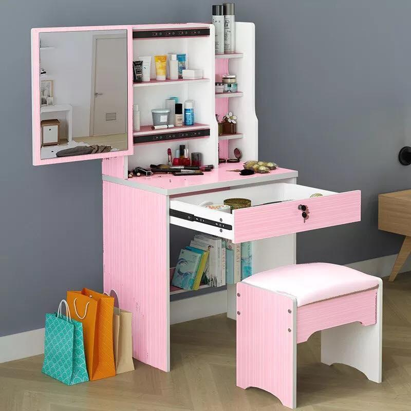 European Style Dressing Table Bedroom Dresser Simple Multi Functional