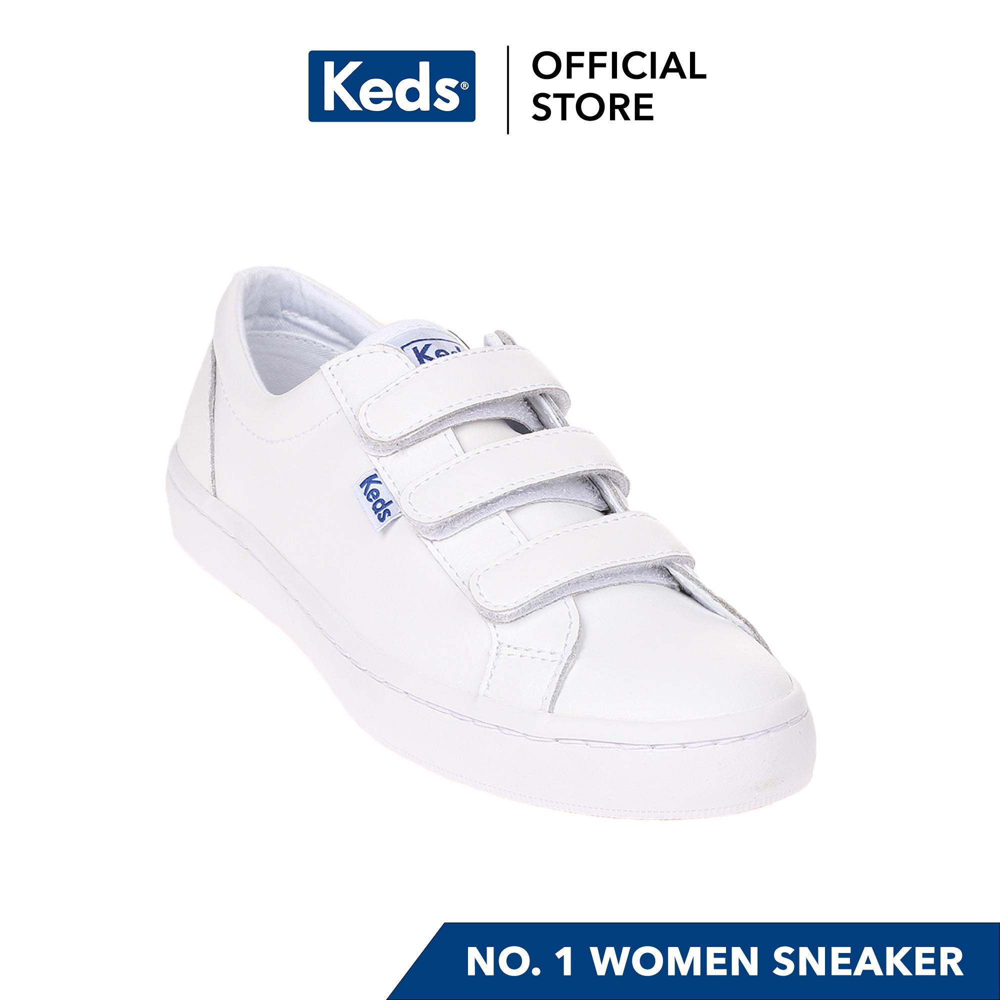 Keds Tiebreak Leather Sneakers (White