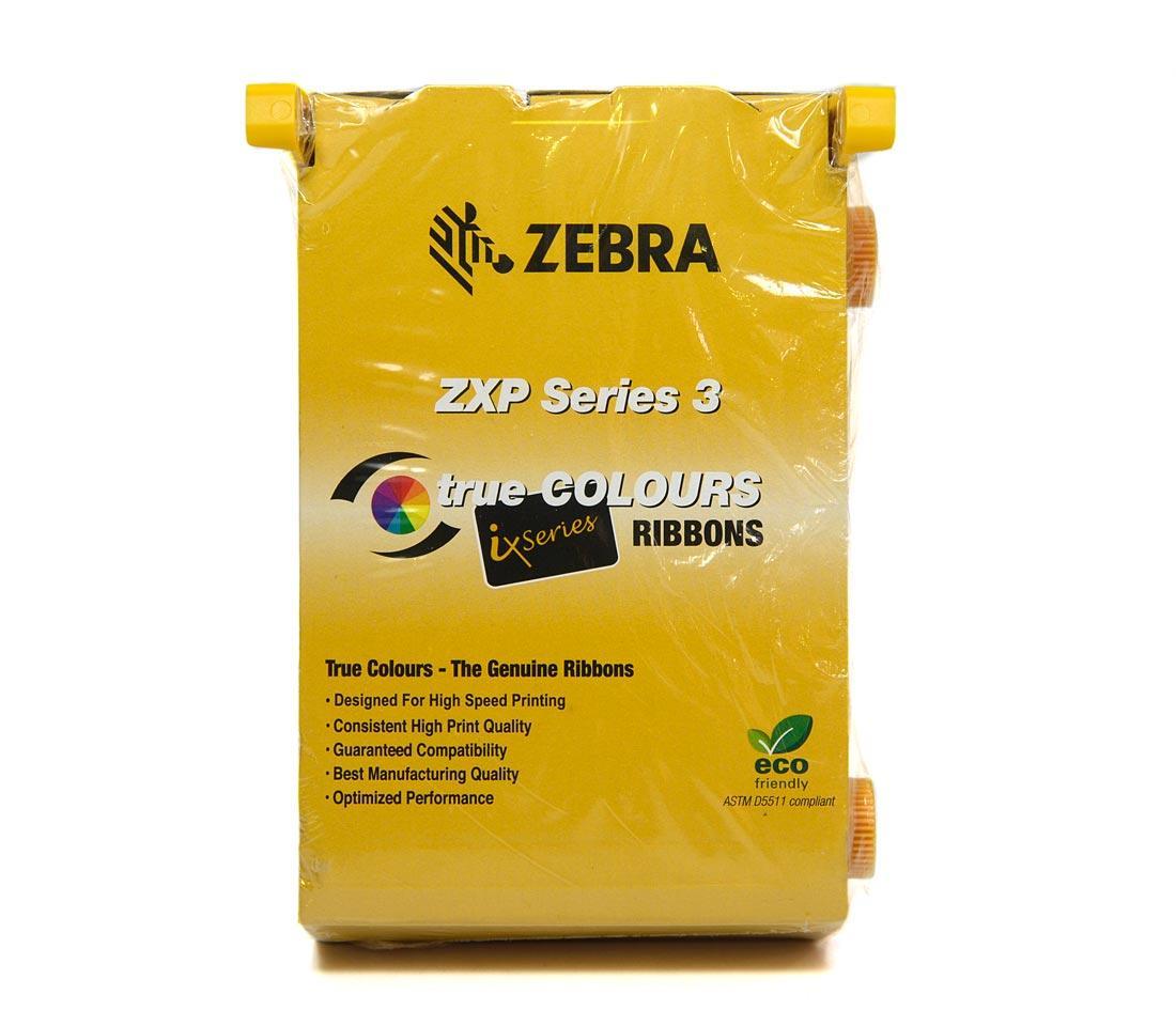 Zebra iX Series Color Ribbon  YMCKO 200 Images for ZXP Series 3 Card Printer