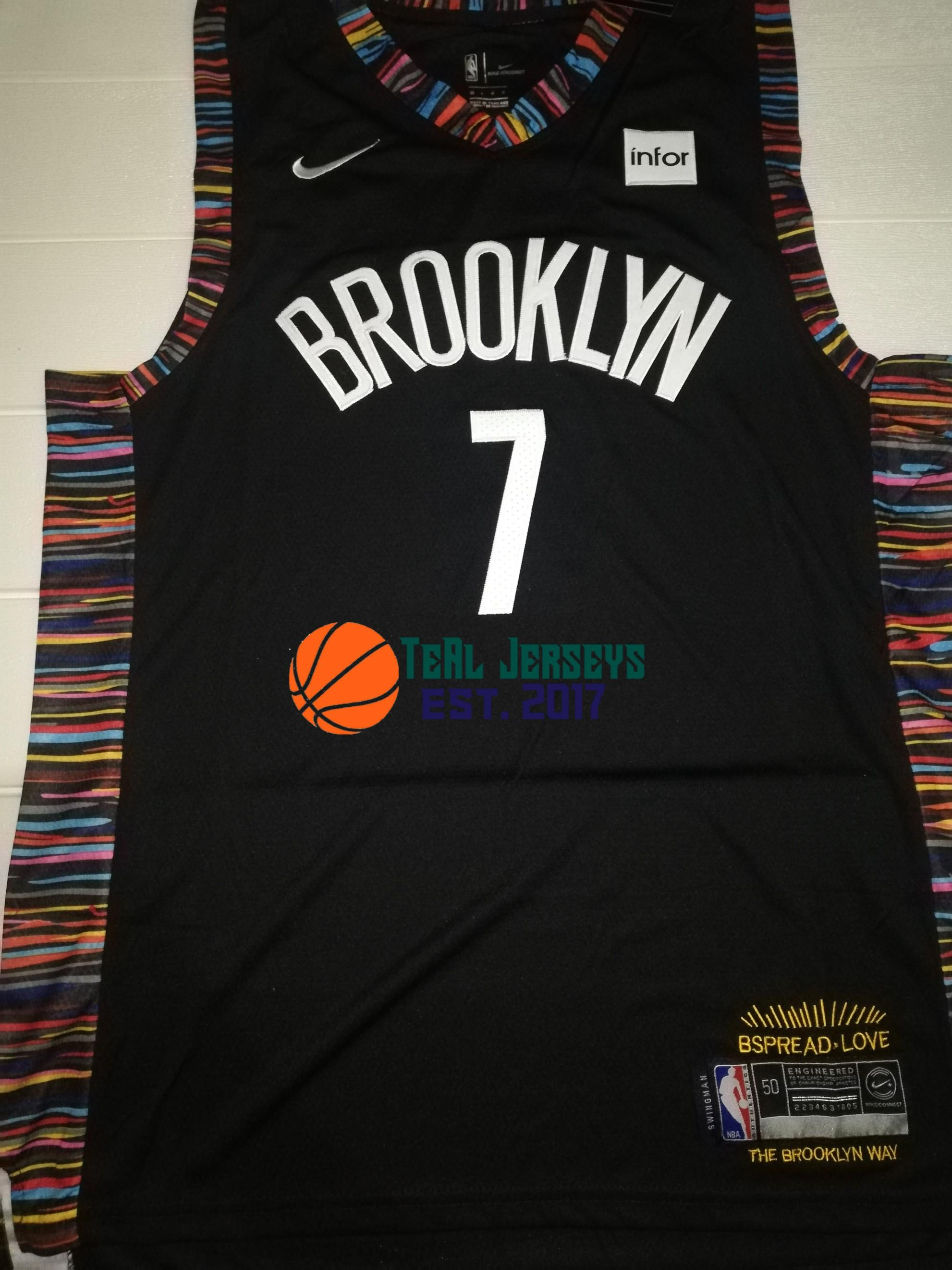 finest selection 76269 8bac0 Kevin Durant Brooklyn Nets NBA Jersey